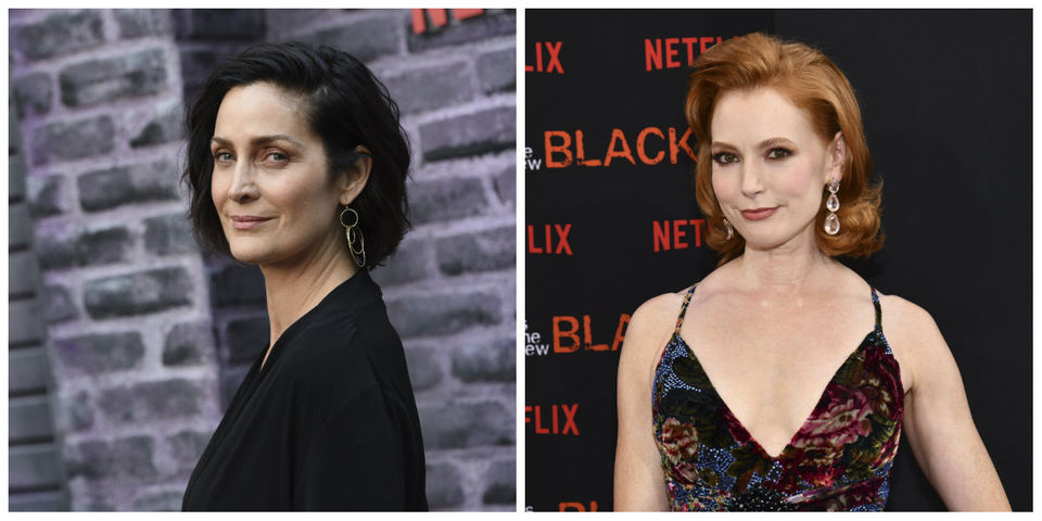 Today's famous birthdays list for August 21, 2019 includes celebrities Carrie-Anne Moss, Alicia Witt