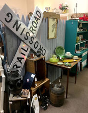 Salvage Yard offers vintage, antiques, upcycled from more than 40 vendors, parking lot sale