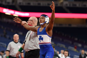 For the second consecutive year, the high school wrestling postseason will crown team champions at Wings Evens Center in Kalamazoo and individual champs at Ford Field. The teams and wrestlers who make it to the big stage will be determined by hard work, sacrifice and a little luck over the next three months, and we're taking an early look at some names to know heading into the the season. From the 24 wrestlers looking to defend their 2018 individual state championships to the countless others looking to bounce back from last year's early exit, follow along to see some of the state's best returning grapplers.