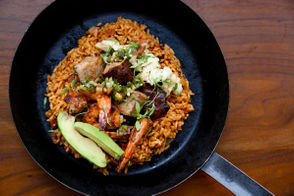 """The latest project from Al Copeland Jr., son of Popeyes Louisiana Kitchen founder, will open a new St. Charles Avenue restaurant called Nolé that combines New Orleans and Latin American cooking. Chef Chris Lusk, formerly of the Caribbean Room and Restaurant R'Evolution, has partnered with Copeland to develop Nolé. """"These two cultures although geographically different have so many similarities,"""" Lusk said in a release. The menu at Nolé includes salsa with red beans, paella with both chorizo and cochon de lait, and street corn with lime aioli and blue crab. Nolé, which opens in late March, replaces the Cheesecake Bistro, another restaurant from Copeland's company that closed last year. The restaurant is on the ground floor of Copeland's recently redeveloped St. Charles Coach House hotel. Nolé: 2001 St. Charles Ave., New Orleans (opens late March) Got a tip? Know some restaurant news? Email Todd A. Price atTPrice@NOLA.comor call 504.826.3445. Follow him on Twitter (@TPrice504) or join the conversation atwww.facebook.com/groups/wherenolaeats."""