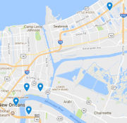 5 armed robberies reported across New Orleans in 7 hours