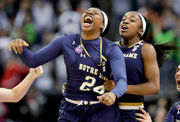 Final Four hero lifts Notre Dame to NCAA women's basketball title (photos)