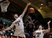 Oregon State Beavers men's basketball comeback falls short against No. 14 Arizona
