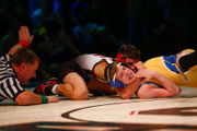 Easton wrestling pins down rival Wilson early, rolls from there