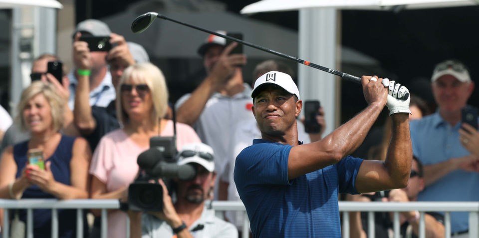 WGC-Bridgestone Invitational 2018: Live leaderboard for 1st round (Tiger 4-under