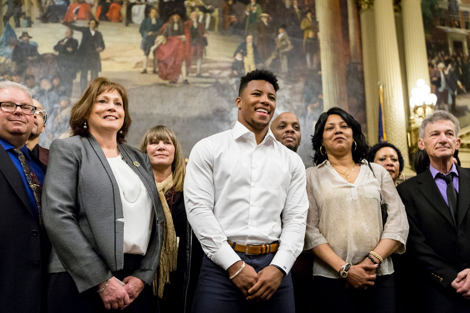 Saquon Barkley Day in Pennsylvania