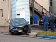Car strikes driving school in Woodbridge