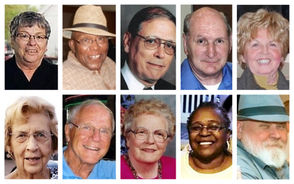 Here's a link to the obituaries that were in the paper on Tuesday, Aug. 16. Those in the collage are some of the photos included in today's obits.