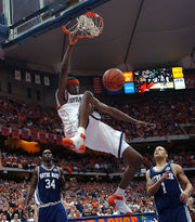 Who are the greatest leapers in Syracuse basketball history? (Mike's Mailbox)