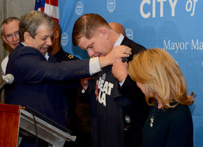 """""""I have great respect for Los Angeles,"""" Mayor Marty Walsh said. """"But we don't lose to L.A."""""""
