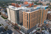 Drone photos give bird's-eye view of developments rising in Ann Arbor