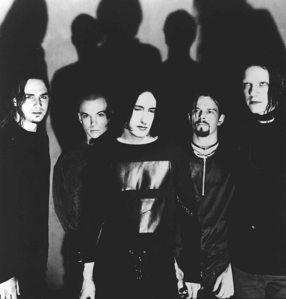 Why Is Nine Inch Nails Ex Drummer Teaching College In Alabama Sweater Nin File Business Wire Photo Of From Left James Woolleychris Vrennatrent Reznor Danny Lohner And Robin Finck