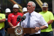 'The proof is in our paychecks,' VP Mike Pence says in Michigan visit