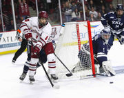 No. 2 UMass hockey wraps up first half of season with 5-2 win over No. 18 Yale (photos)