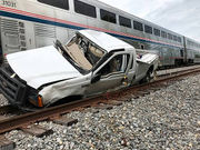 Amtrak train hits pickup truck near LaPlace, no injuries reported