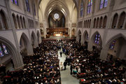 Barbara Bush honored by family, friends, former presidents at funeral (photos)