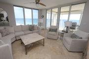 Condo view, private beach at Perdido Place for sale