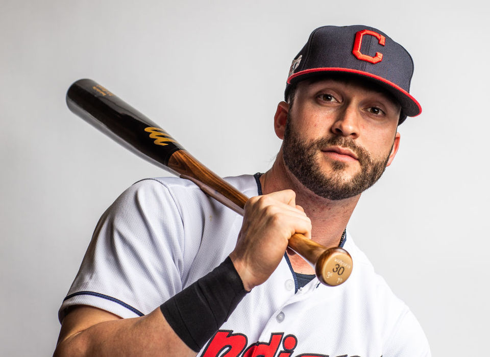 hot sale online 0e463 ba345 Tyler Naquin on Cleveland Indians' success: 'We're going to ...