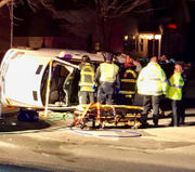 One injured in Westborough rollover crash Sunday night