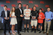MassLive honors spring Athletes of the Week at Springfield office