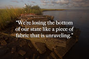 Buried at sea: As cemeteries on Louisiana's coast wash away, so does history