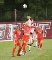 UMass men's soccer settles for draw against Clemson (photos)