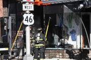 Hackettstown business catches fire in the downtown