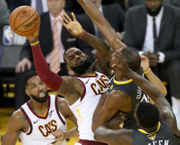 What if Cavaliers only needed to win single-elimination tournament? -- Bill Livingston (photos)