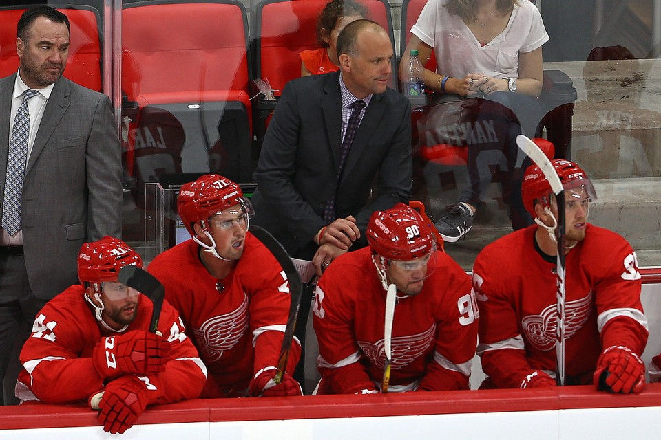 Red Wings Might Weigh Several Factors Before Deciding Jeff Blashill's Future
