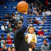 Jrue Holiday credits family, fatherhood for career season with Pelicans