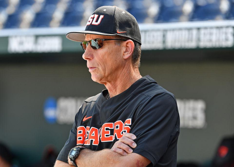 Oregon State Beavers baseball: Pat Casey through the years