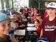 Mid-Island's kids indulge in Little League World Series pin trading