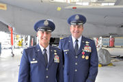 Col. Peter T. Green takes command of Westfield's 104th Fighter Wing in ceremony