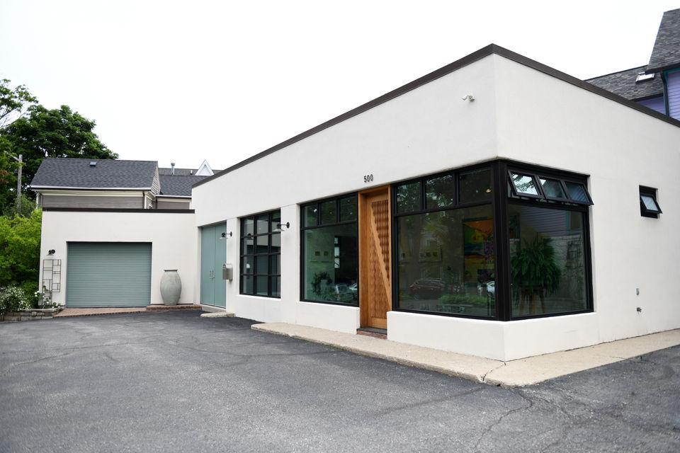 Artists' live-work Kerrytown studio in former automotive garage ripe for redevelopment