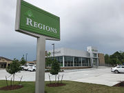Regions Bank branch replaces vacant hookah lounge in Kenner