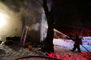 Fire alarms save homeowners' 'bacon' in house blaze (PHOTOS)