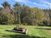 Fall foliage and vibrant colors in full swing at Tower Hill Botanic Garden in Boylston