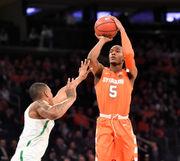 Box score: Syracuse basketball vs. Oregon