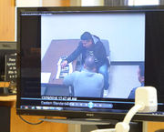 Man accused of throwing victim down stairs in manslaughter trial to argue self-defense