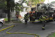 Fire heavily damages Springfield multifamily home, 11 displaced (photos, video)