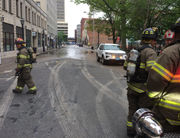 Stearns Square and nearby streets to be closed for much of day following manhole explosion