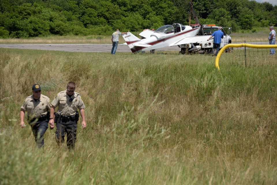 Plane crash between 131 North and the Plainwell Municipal Airport.