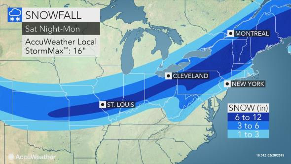 N J  weather: Latest on snow, potential weekend winter storm