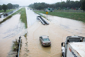Heavy rains have caused flooding in Lancaster County.