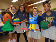 Pumpkins take a literary look with Kenner school's recent project