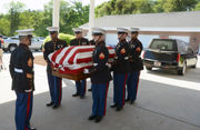 Fallen Springfield Marine laid to rest on American soil 75 years after his heroic death on World War ll battlefield