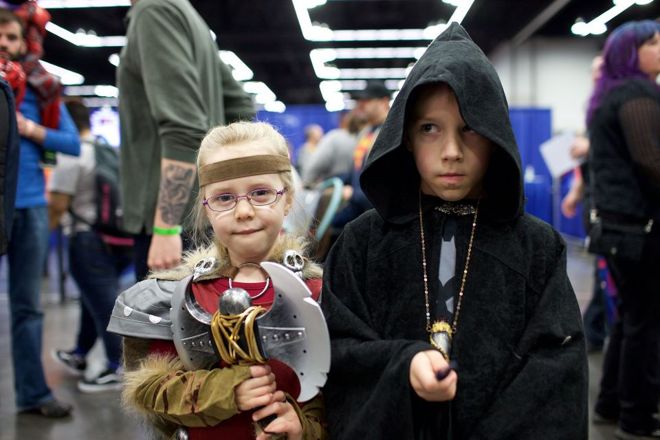 Kids of comic con The 13 best childrenu0027s costumes from Wizard World 2018 in Portland  sc 1 st  OregonLive.com & Kids of comic con: The 13 best childrenu0027s costumes from Wizard World ...