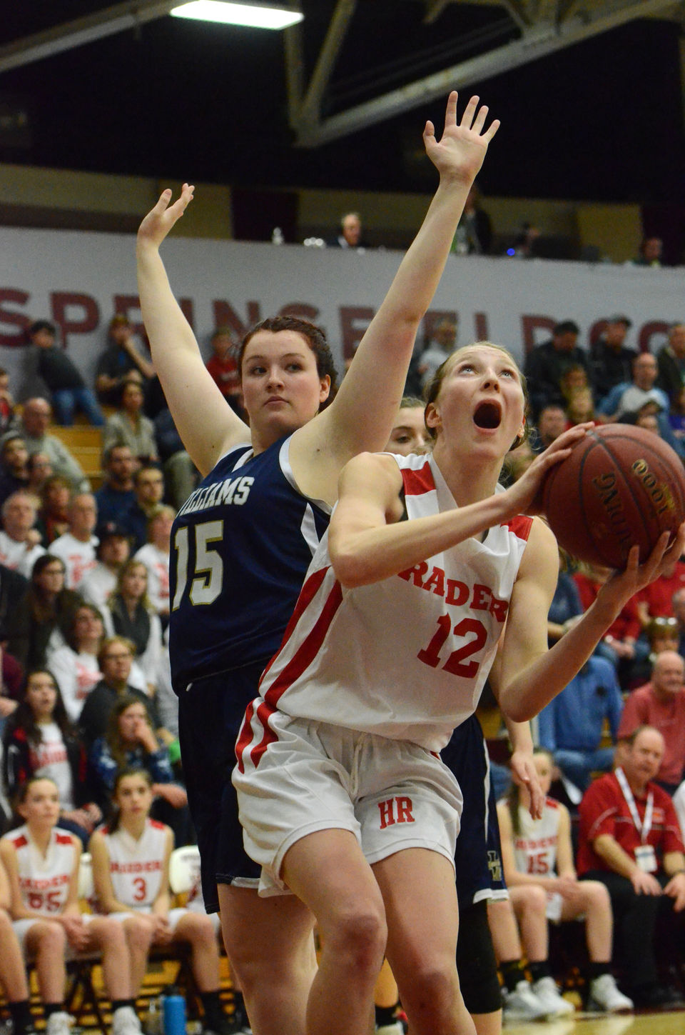 Massachusetts high school girls basketball masslive hampshire girls basketball falls to archbishop williams in d iii state championship maintains confidence fandeluxe Image collections