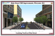 Here's what Worcester's Main Street will look like after $11M overhaul is completed