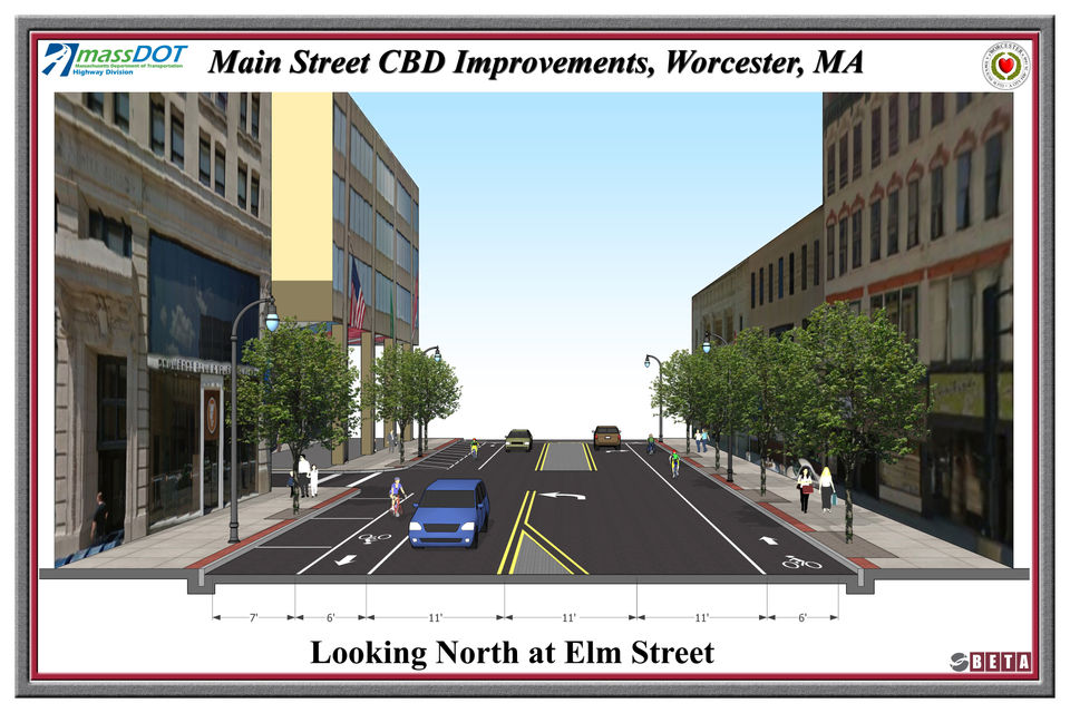 Here S What Worcester S Main Street Will Look Like After 11m
